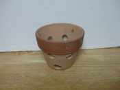 "Rustic Clay Pot 4"" smooth finish"