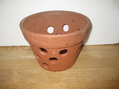 "Rustic Clay Pot 5"" smooth finish"