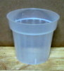 Natural Plastic Pot 3""