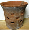 "Rustic Clay Pot 10"" w x 9"" h - rough finish"