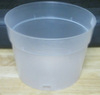 Natural Plastic Pot 6""
