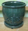 P-LOTUS-13 Hilo Orchid Pot Jade OUT OF STOCK