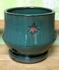 P-LOTUS-47 Morning Star Orchid Pot Jade SALE PRICE $8.95