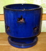 P-LOTUS-43 River Star Orchid Pot Blue SALE PRICE $8.95