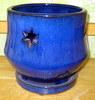 P-LOTUS-48 Morning Star Orchid Pot Blue SALE PRICE $13.95