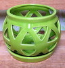 "C-LOTUS-50 GREEN 4"" X 4"" HIGH NO BOTTOM DRAIN HOLE"